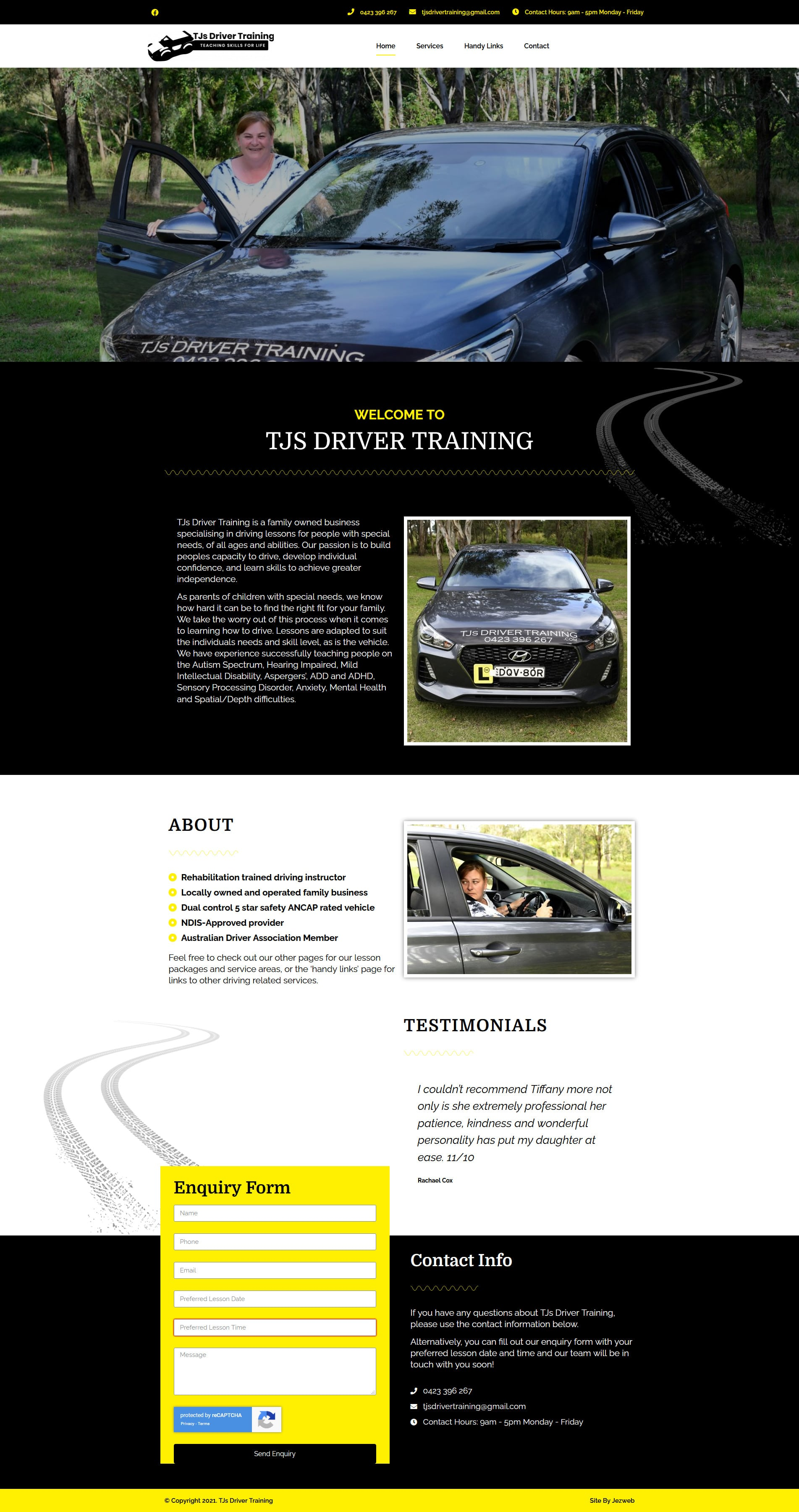 TJs Driver Training -