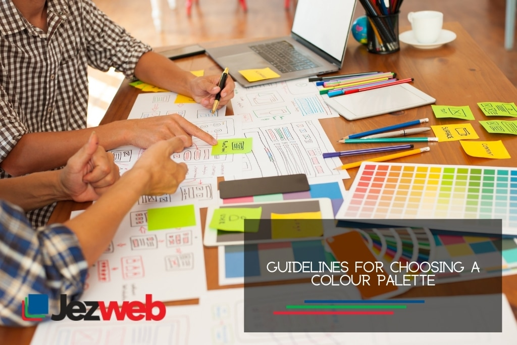 Guidelines for choosing a colour palette
