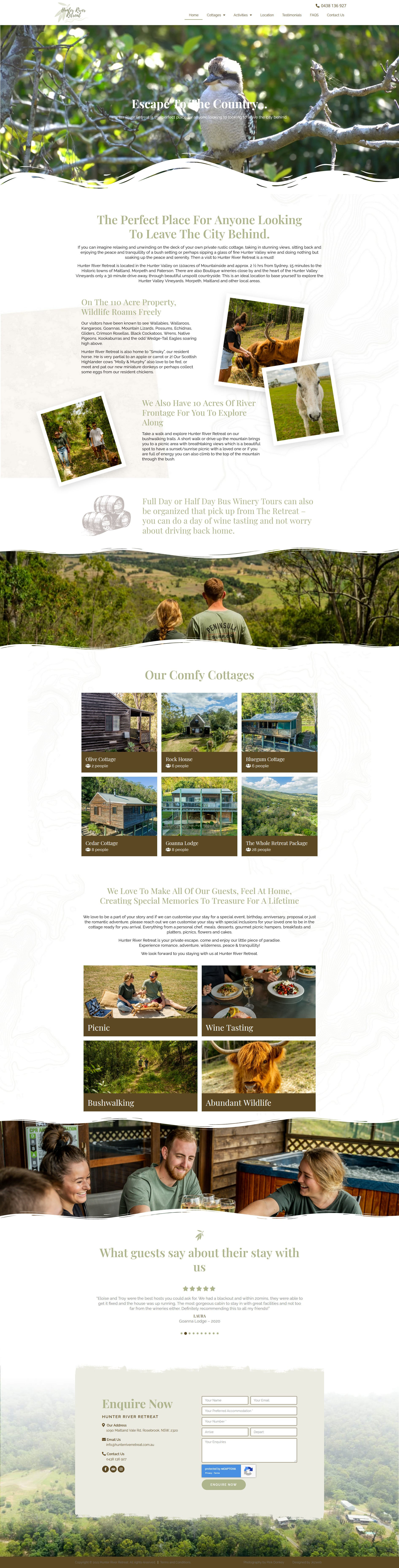 Hunter River Retreat -