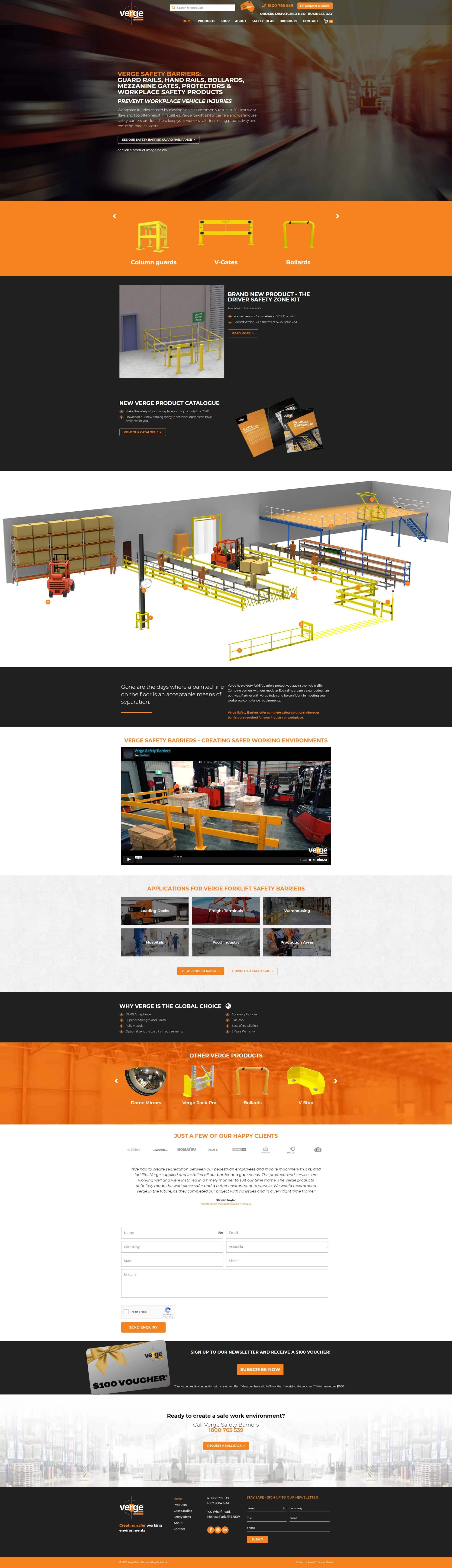 Verge Safety Barriers -