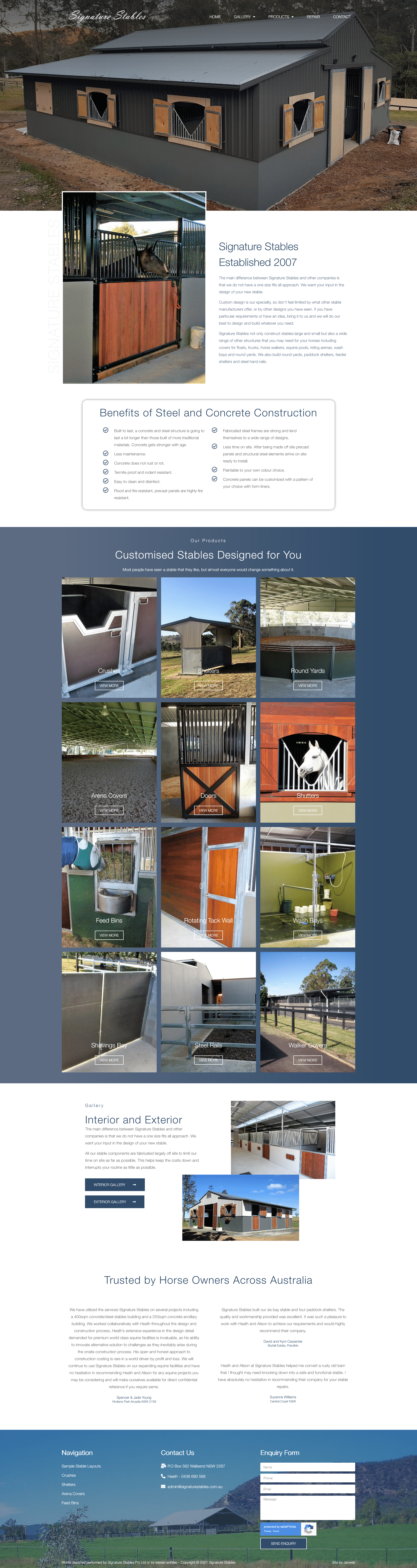 Signature Stables -