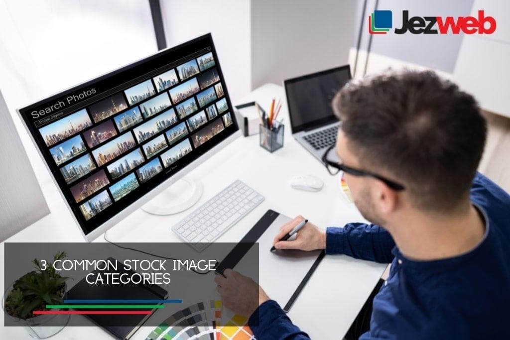 3 Common Stock Image Categories