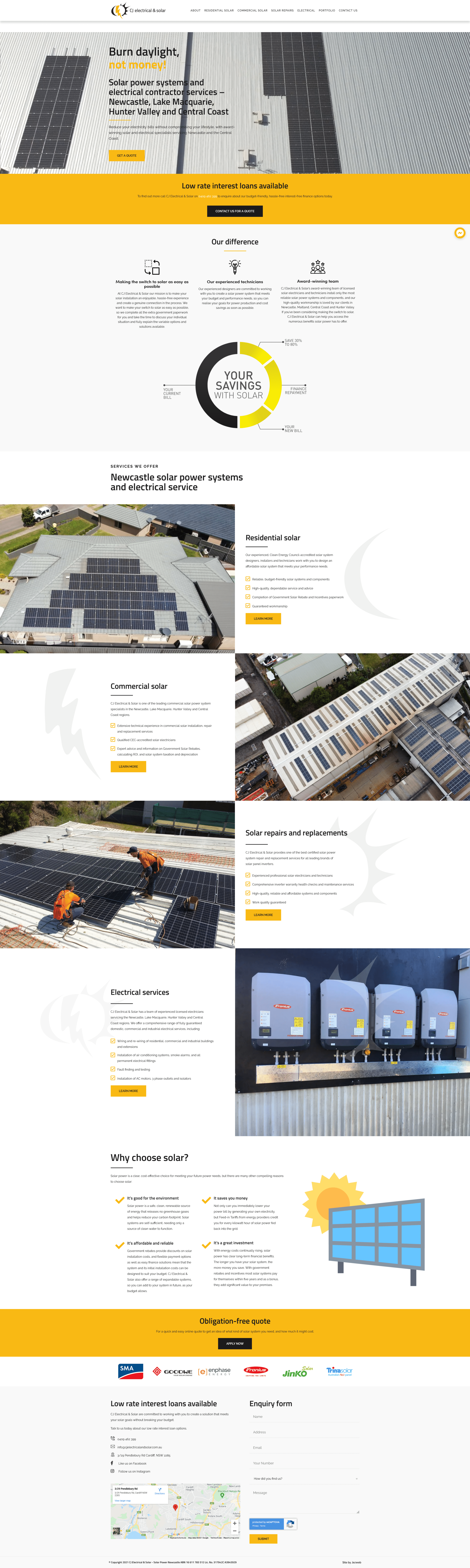 CJ Electrical & Solar -
