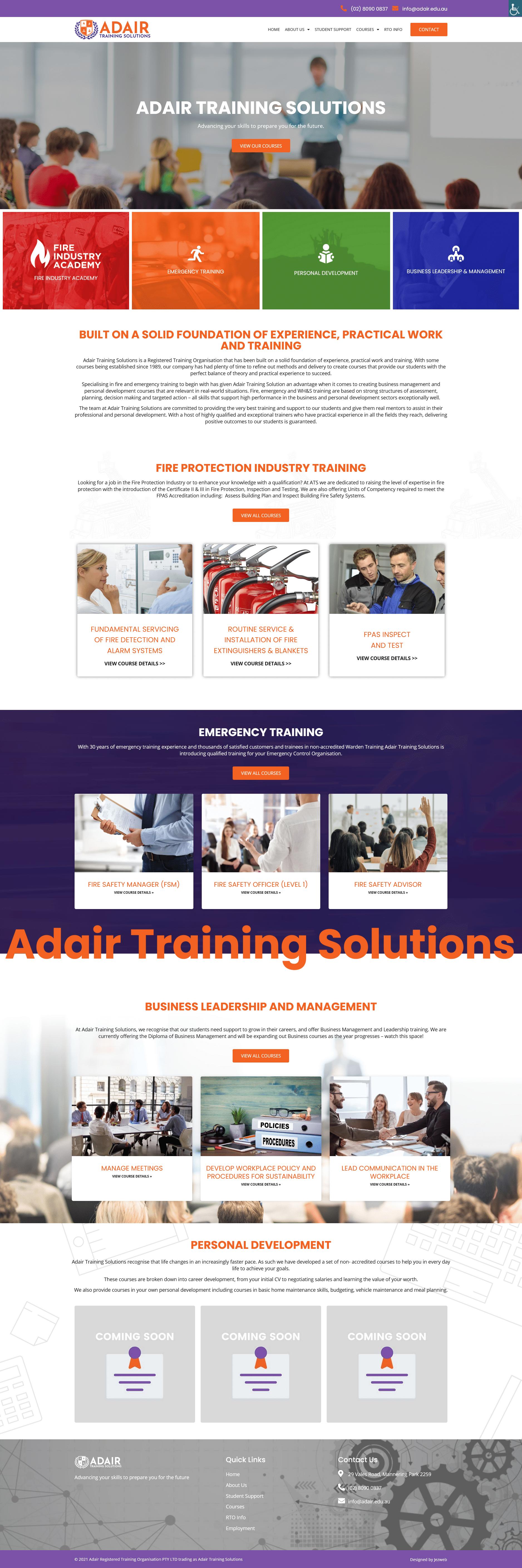 Adair Training Solutions -