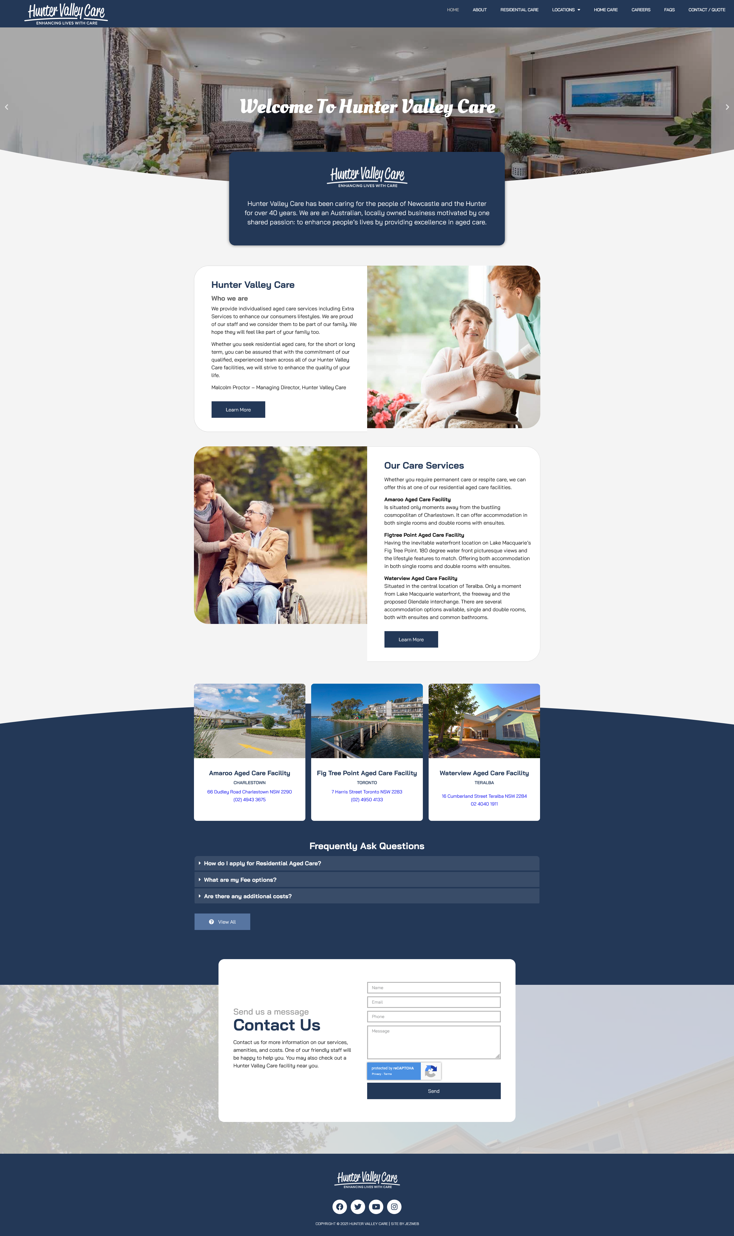 Hunter Valley Care -
