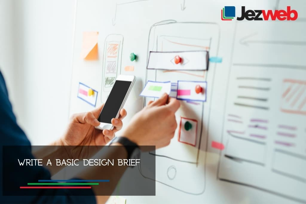 Write a basic design brief