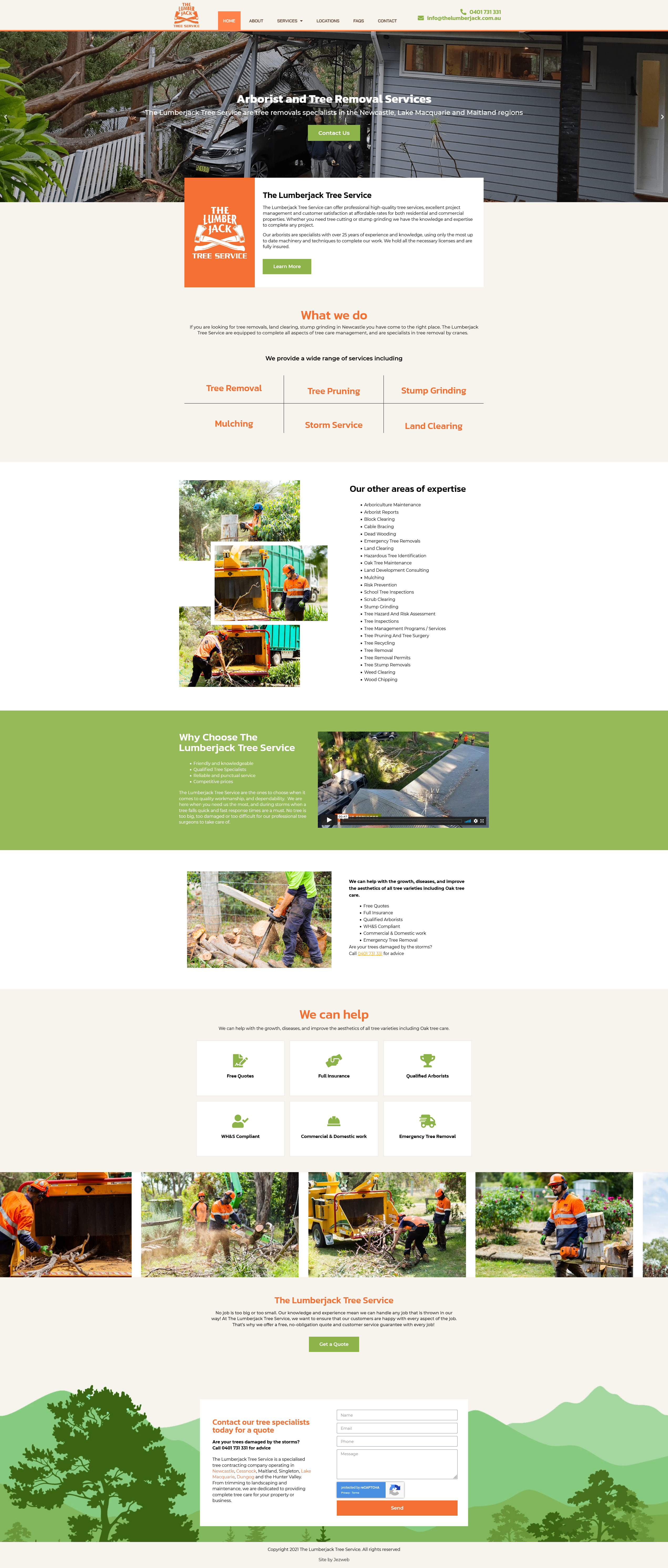 The Lumberjack Tree Service -